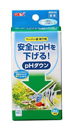 ジェックス pHダウン 80cc   pH調整剤 飼育水のpH値を下げる