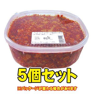 日本チャンジャ1kg 5個セット▲【クール】冷凍