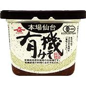 仙台味噌醤油 ジョウセン 有機味噌 500g