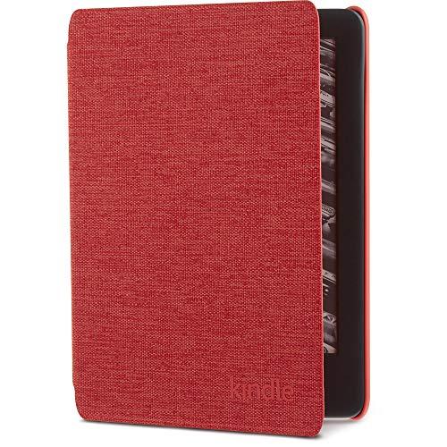 Amazon純正 Kindle(第10世代) 用 ファブリックカバー パンチレッド