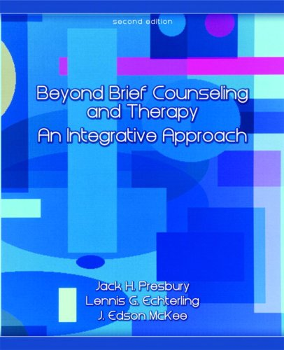 Download Beyond Brief Counseling and Therapy: An Integrative Approach 0132300923