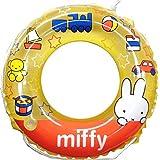 ミッフィー(miffy)子供用 浮き輪(50cm)ドーナツ型 うきわ スイムグッズ キッズ ベビー 子供 男の子 女の子 海水浴 プール 水泳 スイミング お出かけ キャラクター ブルーナ