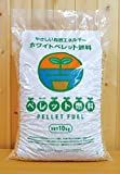 ペレット燃料 ホワイトペレット 10kg(およそ16L) 猫砂にも