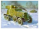 ズベズダ 1/35 ソビエト軍 BA-3重装甲車 プラモデル ZV3546