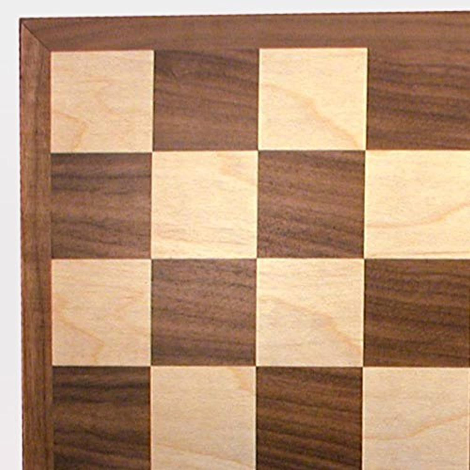 Classic Walnut Chess Board by World Wise [並行輸入品]