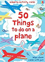 50 Things to Do on a Plane (Activity and Puzzle Cards)