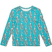 Rainbow Rules Dark Mark Kids Longsleeve Cotton Blend T-Shirt Unisex