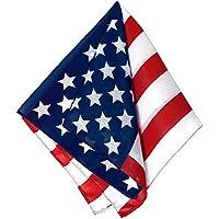 American Flag Printed Bandana アメリカ国旗プリントバンダナ?ハロウィン?クリスマス?One-Size