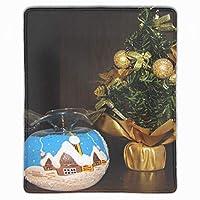 マウスパッド ゲーミング マウスパッド ボールのお祝いクリスマス キーボードパッド パソコンデスクパッド 防水 25*30cm