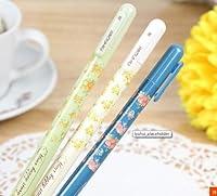 10個/ロット新しい2014送料無料韓国スタイルひな形Fresh Sweet Small Floral Garden中性ペン