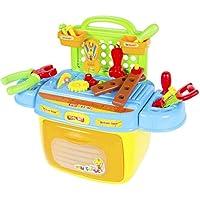 キッズおもちゃのツールボックスPretendサウンド&ライトコンパクトポータブル