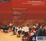 ラフマニノフ : ピアノ協奏曲 第2番 | 第3番 (Rachmaninov : Concertos pour piano 2 & 3 / Boris Berezovsky (piano), Dmitri Liss (direction), Orchestre Philharmonique de l'oural) [輸入盤] 画像