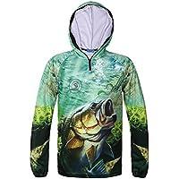 メンズプロフェッショナル釣り乾燥通気性シャツ服太陽保護パーカー