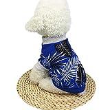 犬の服 Hodarey ペット犬用 犬服 超可愛い ペット服 いぬの服夏のペットの犬の服の子犬の犬の猫のベストシャツの偽のストラップ ペット用品 人気 Tシャツ 洋服 上着 コスチューム服 犬用 撮影 部屋着 ファッション チワワ #134