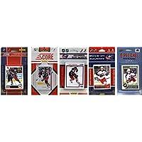 NHLコロンバス?ブルージャケッツ5異なるLicensed Tradingカードチームセット、ブラウン、1サイズ