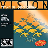 Vision Titanium Orchestra ヴィジョンチタニウムオーケストラ ヴァイオリン弦 E線、A線、D線、G線4種セット 4/4 VIT100o (セット内容VIT01,VIT02,VIT03,VIT04)