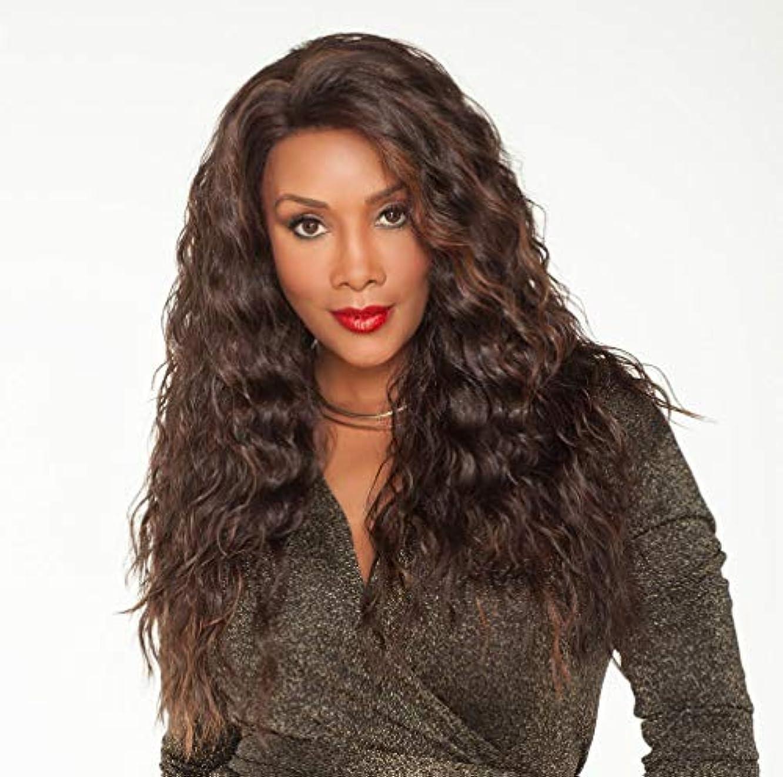 ちょうつがい抑制カンガルー女性ウィッグ150%密度実体波耐熱性合成繊維ベビーヘア未処理人毛