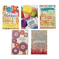 Hallmark Vida Birthday Greeting Card Assortment (5 Cards 5 Envelopes) [並行輸入品]