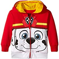 Paw Patrol Toddler Boys' Marshall Hoodie, Red Big Face