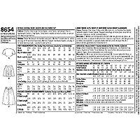 Pattern 8654 Sportswear-12-14-16-18-20