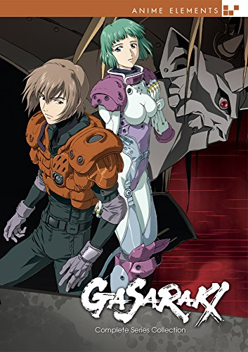 Gasaraki: Complete Series DVD Collection: Anime Elements