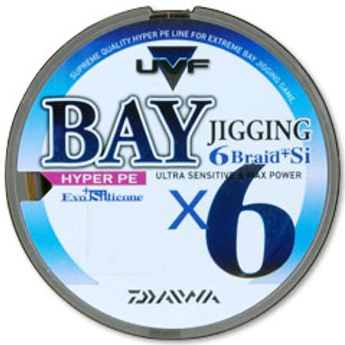 超える話をする定義ダイワ(Daiwa) PEライン UVF ベイジギング 6ブレイド+Si 200m 1.2号 マルチカラー 4625884