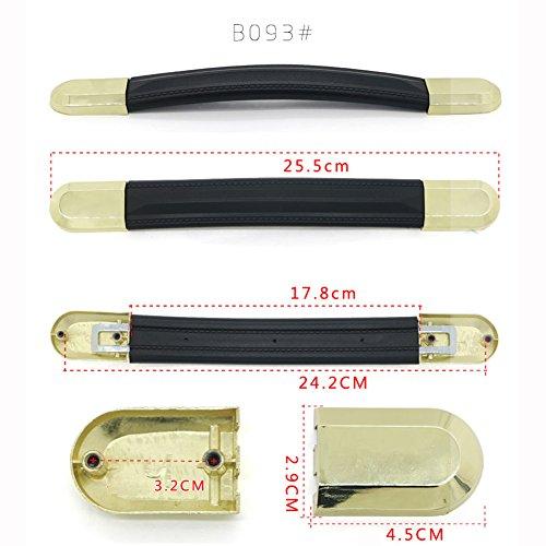 スーツケースのハンドル DIY 交換用 修理 交換代用品 取替え 旅行ラゲッジ の箱のグリップ キャリーボックス スーツケース ハンドル 補修用 (B093)