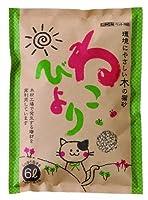 ボンビアルコン (Bonbi) 木の猫砂ねこびより 6L