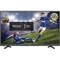 ハイセンス 43V型 フルハイビジョン 液晶 テレビ  HJ43K3120 外付けHDD録画対応(裏番組録画) メーカー3年保証