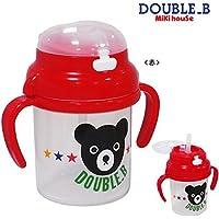 (ミキハウス)ダブルB DOUBLE.B ストローマグ 赤(02)