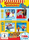 マーモット Benjamin the Elephant - Series (Vol. 1) - 2-DVD Box Set ( Benjamin Bl??en ) ( The Polar Adventure / The Marmots / Benjamin The Superelephant / Benjami [ NON-USA FORMAT, PAL, Reg.2 Import - Germany ] by J??n Kluckert by J??n Kluckert