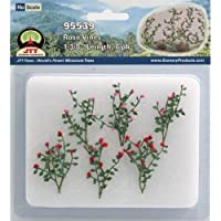 JTT Scenery Products Flowering Plants Rose Vines HO Scale Hobby Train Sceneries [並行輸入品]