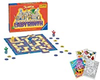 Ravensburger 21246 Junior Labyrinth with Coloring Book