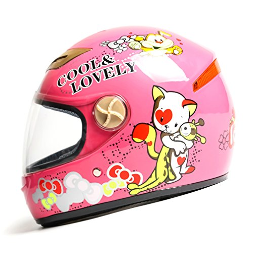 バイクヘルメット フルフェイス 子供用ヘルメット 男の子 女...