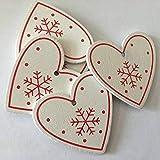 クリスマスツリー オーナメント 選べる12種類 5cm 装飾 パーティ イベント 星 ハート Christmas 5cm,8 5cm,8