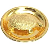 Whopper Feng Shui Metal Turtle with Plate showpiece, Lucky Charms Good Omens Good Health Turtle for Good Luck Best Wishing Gi