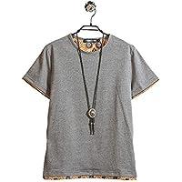 ( Make 2 Be ) クルーネック レイヤード Tシャツ メンズ ノームコア 半袖 MF49