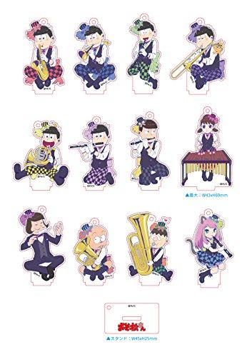 おそ松さん 【描き下ろし】 吹奏楽松 アクリルスタンド BOX商品 1BOX=12個入り、全12種類
