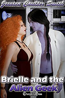 Brielle and the Alien Geek (Intergalactic Brides 1) by [Smith, Jessica Coulter]