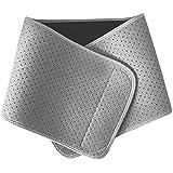 Waist Trimmer Trainer Belt, Sweat Wrap Exercise Belt for Stomach Weight Loss Women Men Fitness Workout Sweat Sauna Belt Abdom