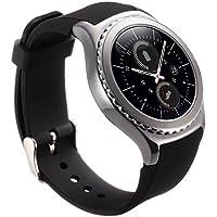 valkit for Gearスポーツ/ギアs2クラシックブレスレット時計バンド¨ C 20mm Samsung r732バンド交換用リストバンドスポーツストラップfor Samsung Gearスポーツsm-r600/ Gear s2Classicスマートウォッチ( sm-r732/ r7320/ r735) ブラック 4326576896