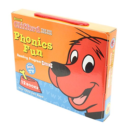 Clifford the Big Red Dog: Phonics Fun Reading Program Pack3(Clifford)の詳細を見る