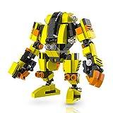 マイビルド (MyBuild) ブロックメカフレームシリーズ 可動フィギュア- 建機ロボ 5014