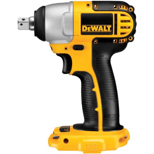 DEWALT Bare-Tool DC820B 1/2-Inch 18-Volt Cordless Impact Wrench (Tool Only, No Battery) [並行輸入品]