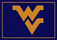 "West Virginia Mountaineers 5' 4"" x 7' 8"" Team Spiritエリアラグ"