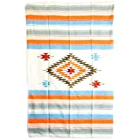 (One Size, Red Cream) - Nipomo Tierra Blanket Red Cream, One Size