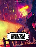 Graph Paper Notebook: Graph Paper Notebook Blade Runner Action Movies Soft Glossy Graph Paper with Grid Paper for Math & Science Students 8.5 x 11 in large (21.59 x 27.94 cm)