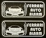フェラーリ 430 スクーデリア セキュリティ ステッカー fe008wos - 580 円