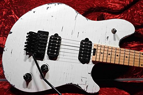EVH Wolfgang Standard White Relic by Mike Palermo