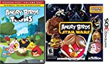 Angry Birds Star Wars: Nintendo 3DS & Toons Season One Animated DVD 26 Episodes Game + Cartoon Set